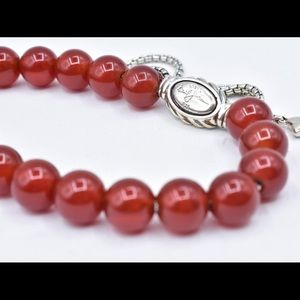 David Yurman spiritual bead red Cornelian